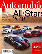 Automobile Magazine May 2018 All Stars Best Cars Reviewed