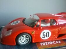 Ferrari F-50  made by NINCO slot scalextric car Ed.1996 Ref.50123