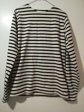 Norse projects medium Godfred striped Sweatshirt. Excellent Condition.