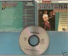 Santana - CD - Greatest Hits Live - Vol. 1 von 1999 - Neuwertig !