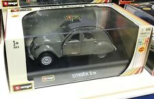 BBURAGO BURAGO auto d'epoca scala 1/32 Citroën CITROEN 2CV 2 CV die cast metal