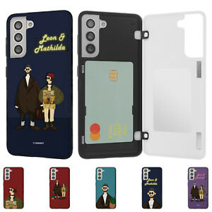 Leon Mathilda Magnetic Door Bumper Cover for Galaxy S21 S20 Note20 Note10 Case
