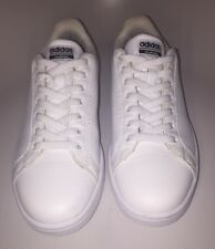 Adidas Neo Cloudfoam Memory Footbed White Sneakers Size 10