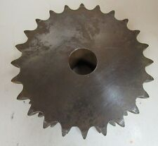 """NEW MARTIN DOUBLE ROLLER CHAIN SPROCKET DS50A24 24 TEETH 1"""" BORE"""
