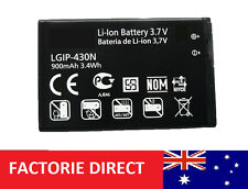 Battery LGIP-430N LG Cookie Fresh GU290F GS290 GW300 Etna 2 GU295 GU292 GU285