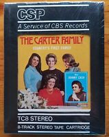 The Carter Family Countrys First Family 8-track Factory sealed