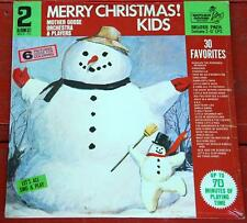 MOTHER GOOSE PLAYERS  Merry Christmas Kids! / ORIGINAL US 2LP SET / MINT Sealed!
