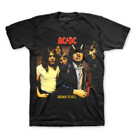AC/DC T-Shirt Highway To Hell Album Cover New Authentic Rock Tee S-3XL