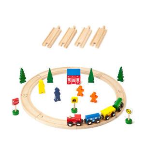 Wooden Train Set 31pc Starter Set - Compatible with Brio & Thomas - FREE POSTAGE