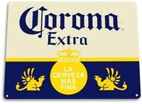 Corona Extra Beer Cerveza Metal Decor Sign