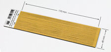 1,8 mm THICK PRE-CUT.  OPEN CELL FOAM SELF ADHESIVE - ONE PIECE: 1,8x45x170 mm