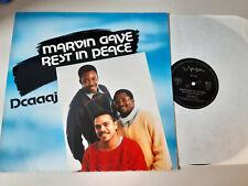 "LP Reggae Dcaaaj - Marvin Gaye Rest In Piece 12"" (4 Song) SYNTON REC GERMANY"