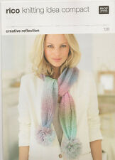 Rico DK Ladies and Girls Scarf Knitting Pattern 138