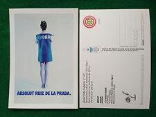 Pubblicità Advertising Cartolina vodka Italy ABSOLUT RUIZ DE LA PRADA n 167/2848