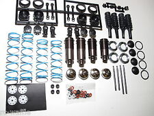 KYOSHO INFERNO MP9-E TKI FRONT AND REAR COMPLETE SHOCK ASSEMBLIES