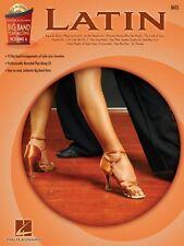 Latin Bass Sheet Music Big Band Play-Along Book and CD NEW 000843132