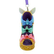 disney parks sleeping beauty three fairies christmas shoe ornament new with tag