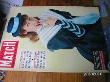 1µ? Revue Paris Match n°257 Colette J.Sablon Saclay Marilyn Monroe La CC 7121