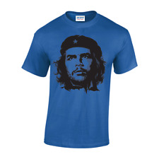 Che Guevara New MENS Face Image T-shirt freedom Revolution cuba colour unisex