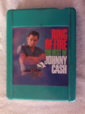 """4 TRACK TAPE..JOHNNY CASH """"RING OF FIRE"""" """"BEST OF JOHNNY CASH"""""""