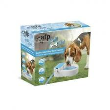Auto Filling Dog Water Fountain AFP Garden Outside Automatic Pet Drinking Bowl