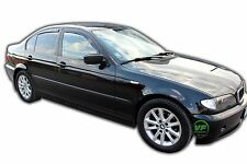 DBM11121 BMW 3 SERIES E46 4DOOR SALOON 1998-2007 WIND DEFLECTORS 4pc HEKO TINTED