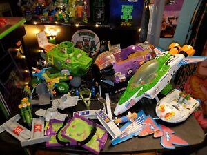 Teenage Mutant Ninja Turtles Vehicles Lot Playmates Tmnt