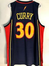 Adidas Swingman NBA Jersey Golden State Warriors Stephen Curry Navy HWC sz S 1f86a1ee1