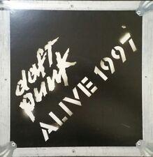 DAFT PUNK Alive 1997 Vinyl Lp Record Album 2001 EU Press W/Insert Stickers