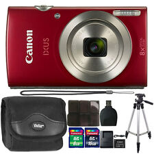 Canon PowerShot IXUS 185 / Elph 180 20MP Compact Digital Camera with 24GB Bundle