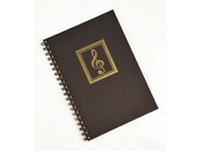 Music Manuscript Journal, Spiral Bound Music Paper for Composition - Songwriting