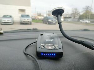 Escort 9500ix INTL passport radar detector international version Used