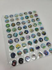 Pathtags Geocaching Lot of 63 Mixed Lot Panda Dumbo Baseball Fish Cats & More