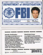 the X-Files Special Undercover Agent Fox Mulder Drivers License fake id card