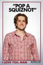 I LOVE YOU, MAN Movie MINI Promo POSTER D Paul Rudd Jason Segel Rashida Jones