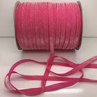 "New 5 yard 3/8""10mm Sparkle Glitter Velvet Ribbon Headband DIY Craft supplies#30"