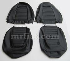 Fiat X1/9 Black Seat Covers Set New