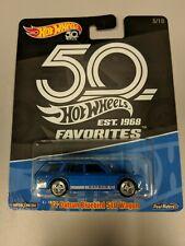 Hot Wheels '71 Datsun Bluebird 510 Wagon 50th Anniversary Favorites - Blue
