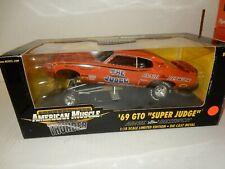 1969 SUPER JUDGE  THE JUDGE  RACE CAR  1.18 DIECAST  NHRA