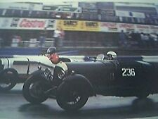 ephemera - motor racing winn jackson bentley race picture