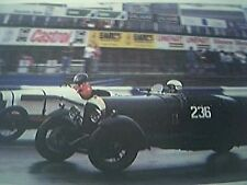 ephemera - motor racing winn jackson bentley race picture