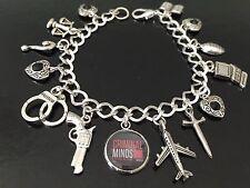 Criminal Minds Charm Bracelet, Tv Show, Profiler, Murder Mysteries, FBI