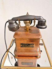 Telephone bois Cie générale combiné éricson modèle 1934