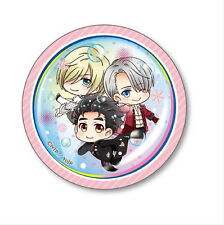 Yuri on Ice Group Under Water 3'' Metal Button NEW