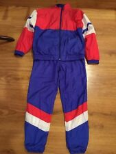 Girls Size Xl 18/20 Sweat Track Suit, *Members Only* Vintage Red/White/Blue