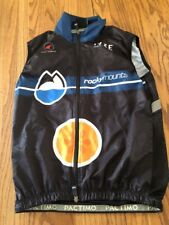 Pactimo Cycling Lightweight VEST XS Size Mens Black Mesh Back