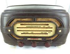 1950 / 1951 HOTPOINT MODEL L64ME BAKELITE VALVES / TUBES RADIO.