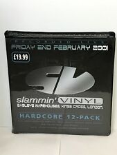 SLAMMIN VINYL @ BAGLEYS HARDCORE / TECHNO / TRANCE RAVE 12 TAPE PACK RARE 2001