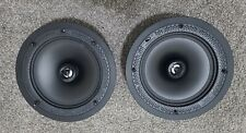 """Definitive Technology DI8R 8"""" Round In-Wall Ceiling Loudspeakers 1 Pair used"""
