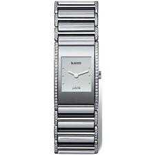 Rado R20733122 Women's Integral Silver-Tone Quartz Watch